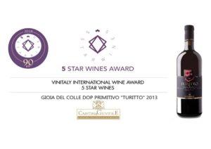 Vini premiati | Vinitaly 5 STAR WINES AWARD 2018 | Cantina Gentile