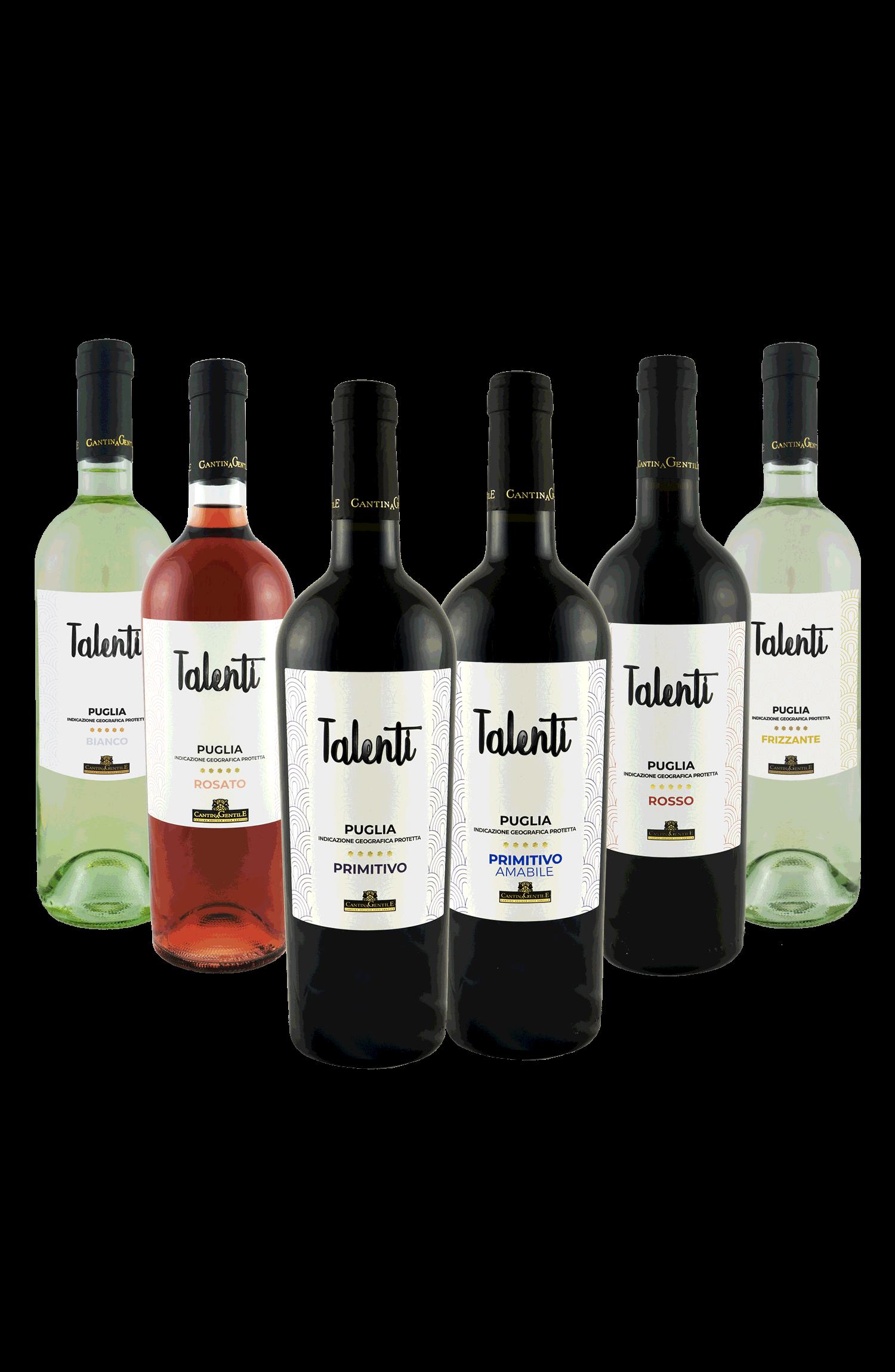 Vino rosso talenti | Cantina Gentile