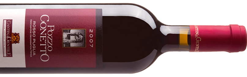 Vino Rosso Pugliese | Pozzo Conetto | Cantina Gentile