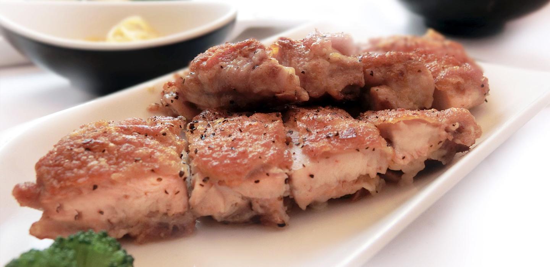 Vino rosato con piatto di pollo | Cantina Gentile