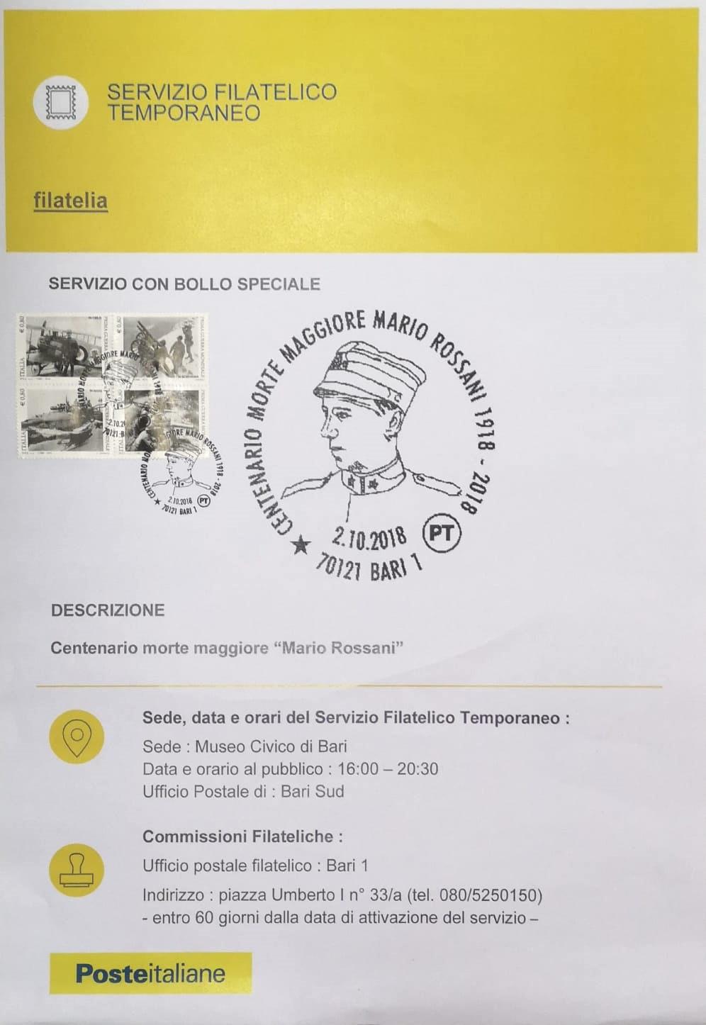 Rossani -Filatelico Speciale