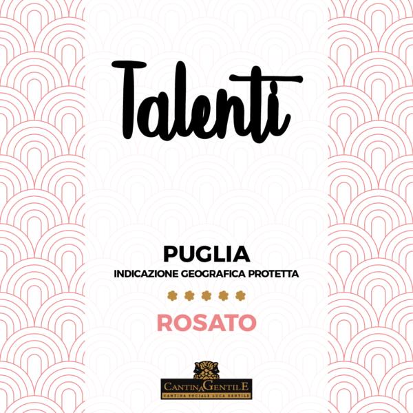 Cantina Gentile Talenti Rosato Vino