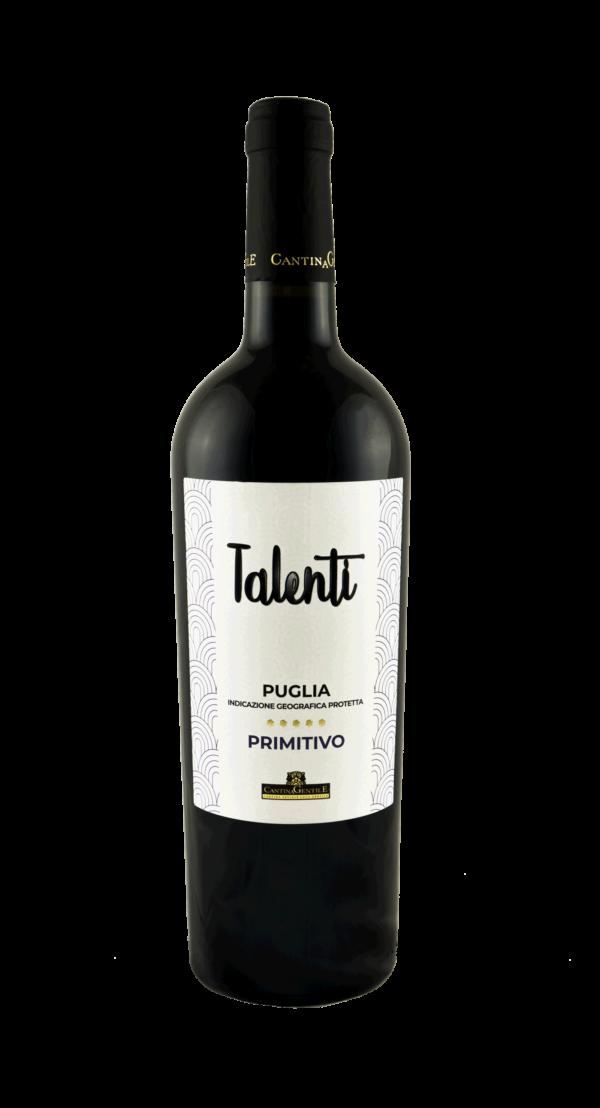 Vino Primitivo Talenti | Cantina Gentile