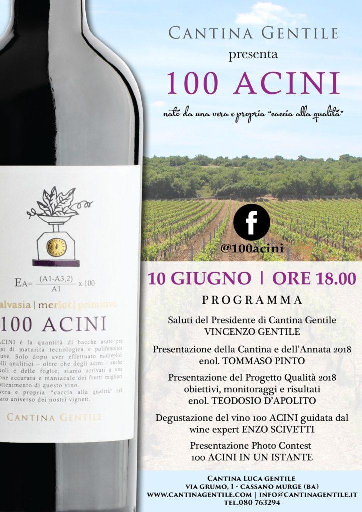 100 Acini